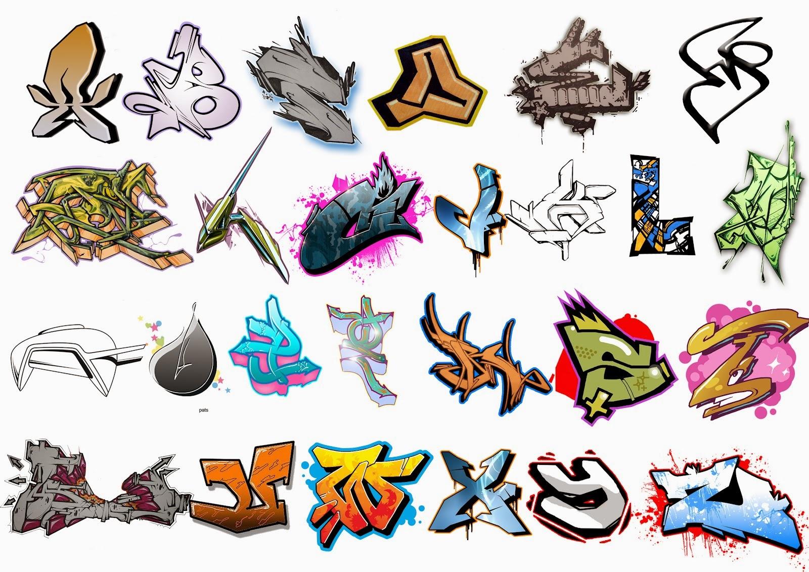 Graffiti Wall: Graffiti Alphabet