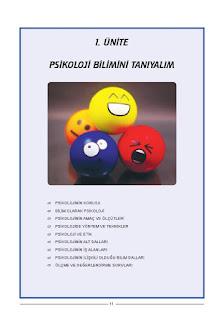 Psikoloji Ders Kitabı Cevapları Tekno Artı Yayınları Sayfa 11