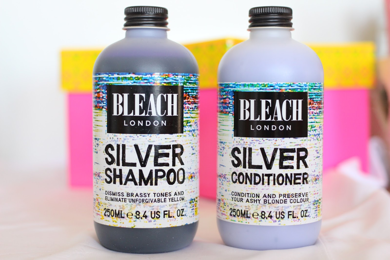 Bleach London Silver Shampoo & Silver Conditoner