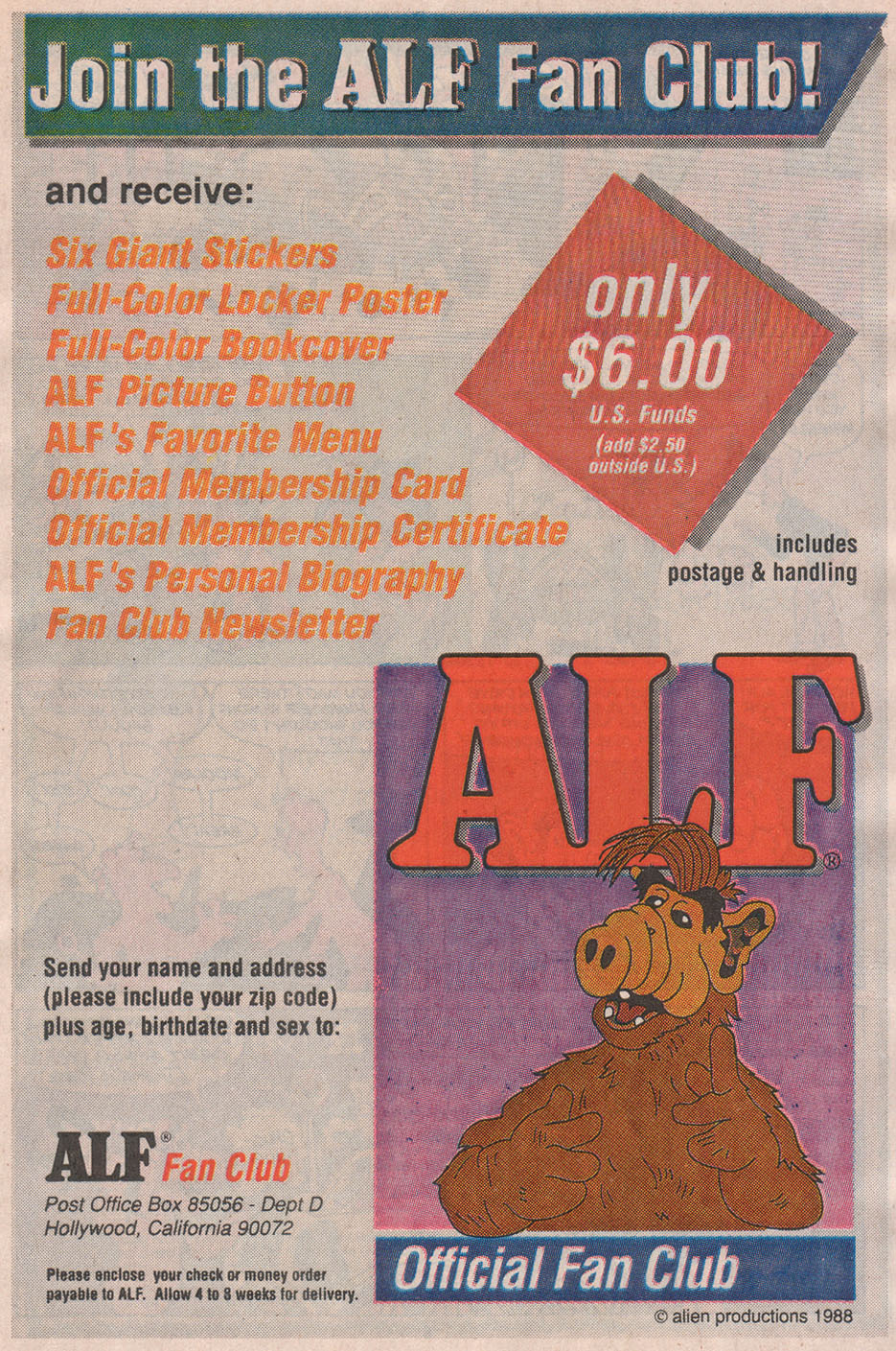 Read online ALF comic -  Issue #13 - 7
