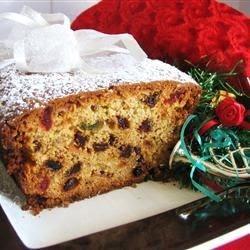 Christmas Cherry Cake Recipe - World Food Cuisines