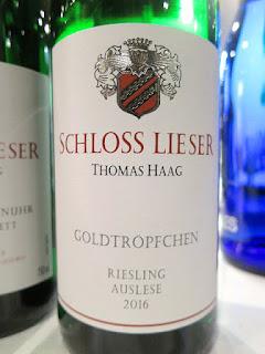 Schloss Lieser Piesporter Goldtropfchen Riesling Auslese 2016 (92 pts)