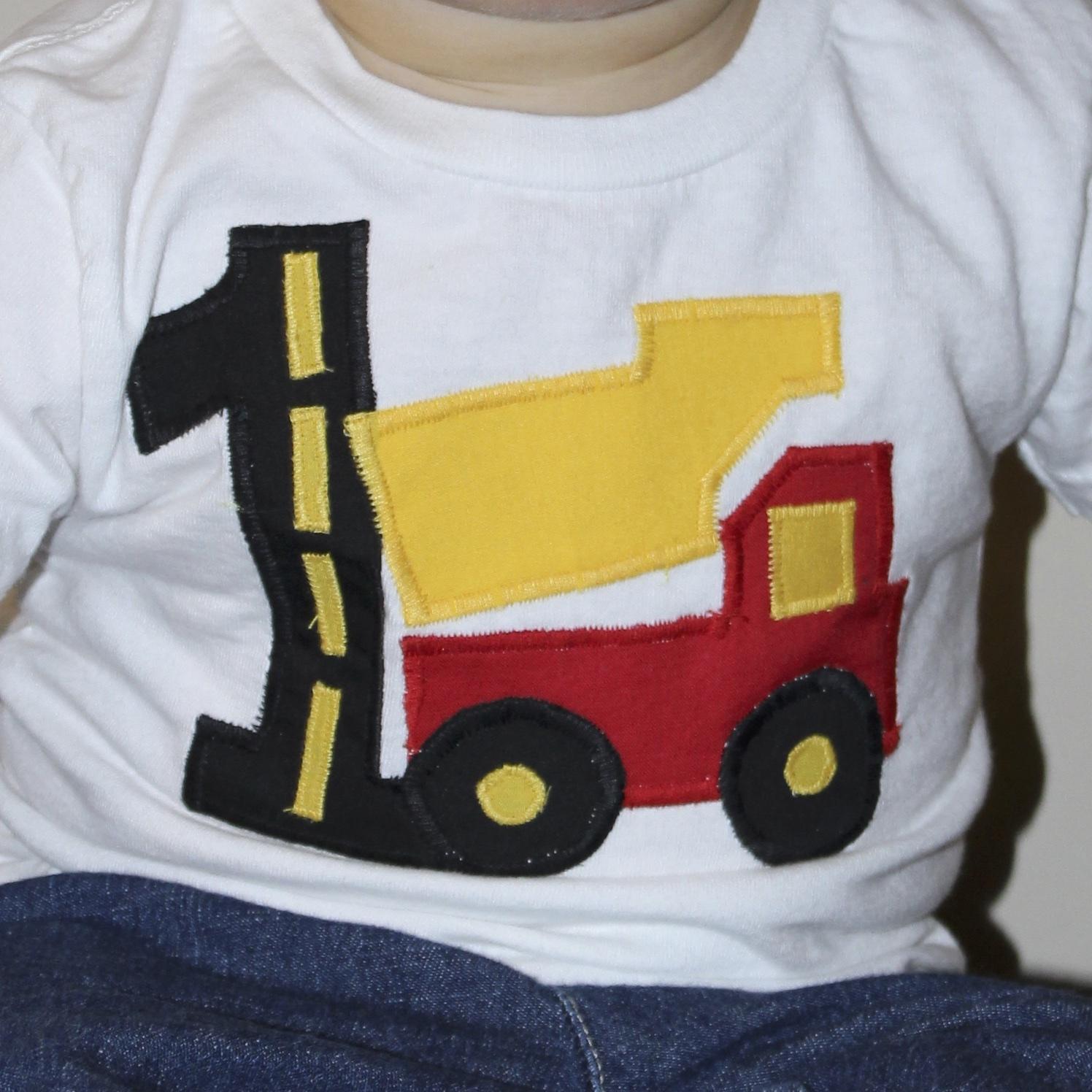 Construction Birthday Party Shirt