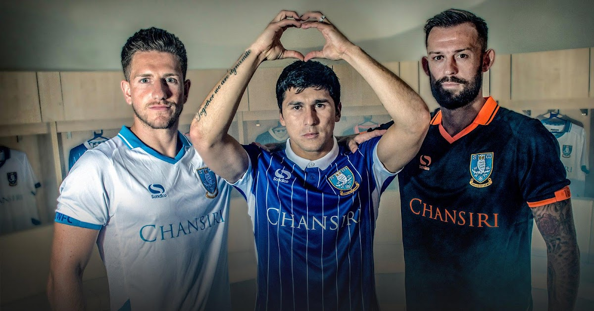 sheffield wednesday 16-17 kits released