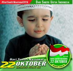 DP BBM Hari Santri Nasional 22 Oktober 2017