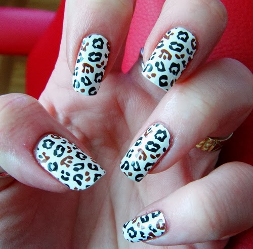 Zebra Nail Ideas: Zebra And Cheetah Nail Designs