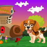 G4K Dog Escape From Boot House Game