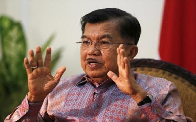Wapres JK Minta Warga Korban Gempa Lombok Mandiri Bangun Rumah