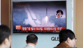 North Korea Fires Suspected Land-To-Ship Missiles As South Korea Delays THAAD