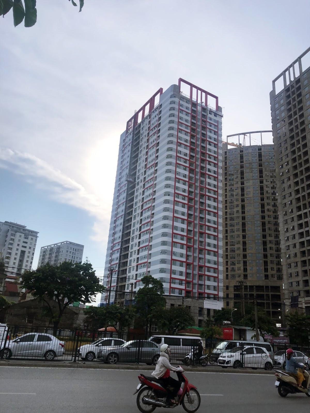 Tiến độ tháp IP1 chung cư Imperial Plaza