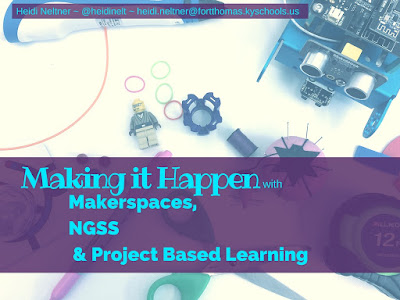 Making it Happen with Makerspaces, NGSS and PBL