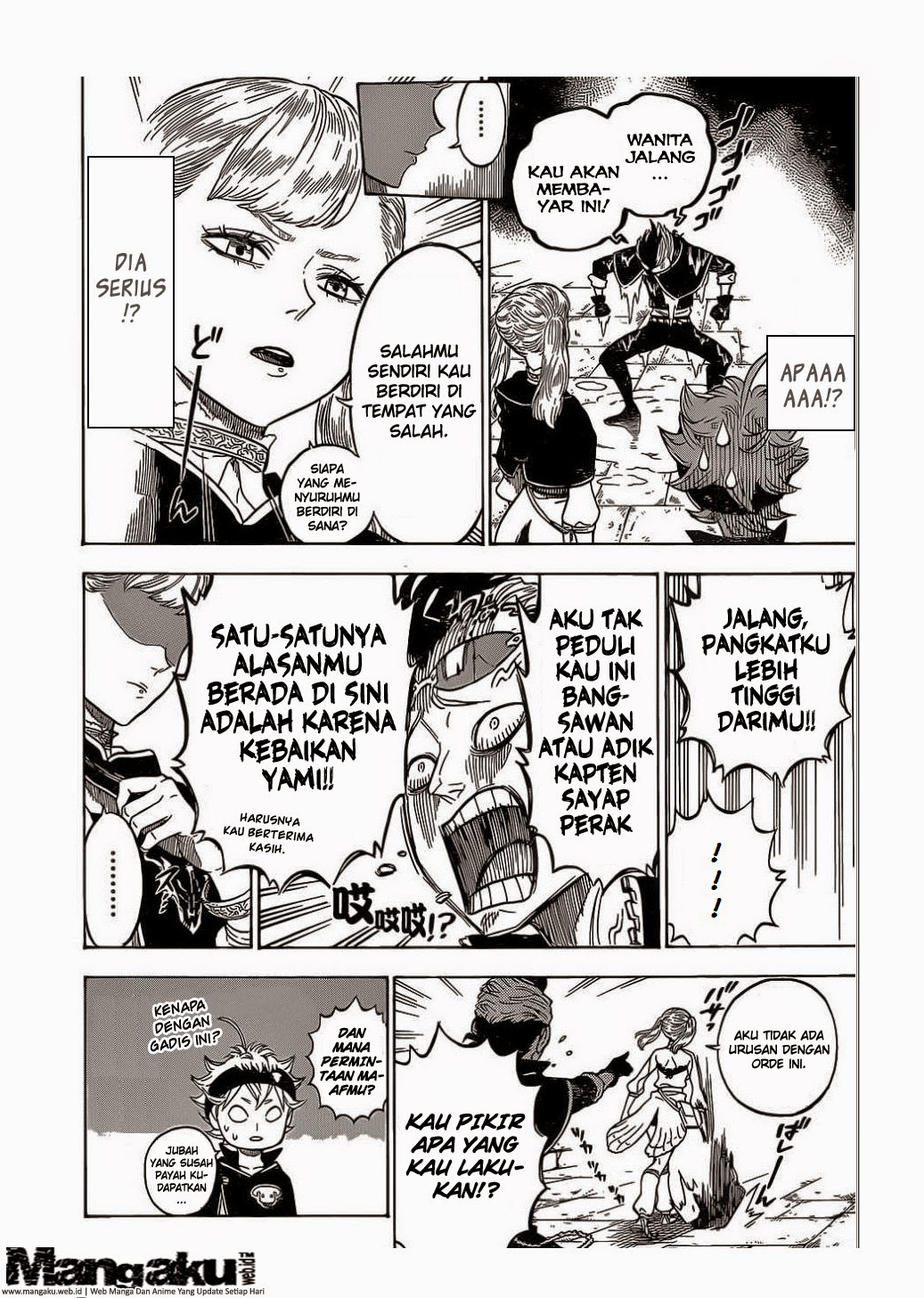 Black Clover Chapter 5 Bahasa Indonesia
