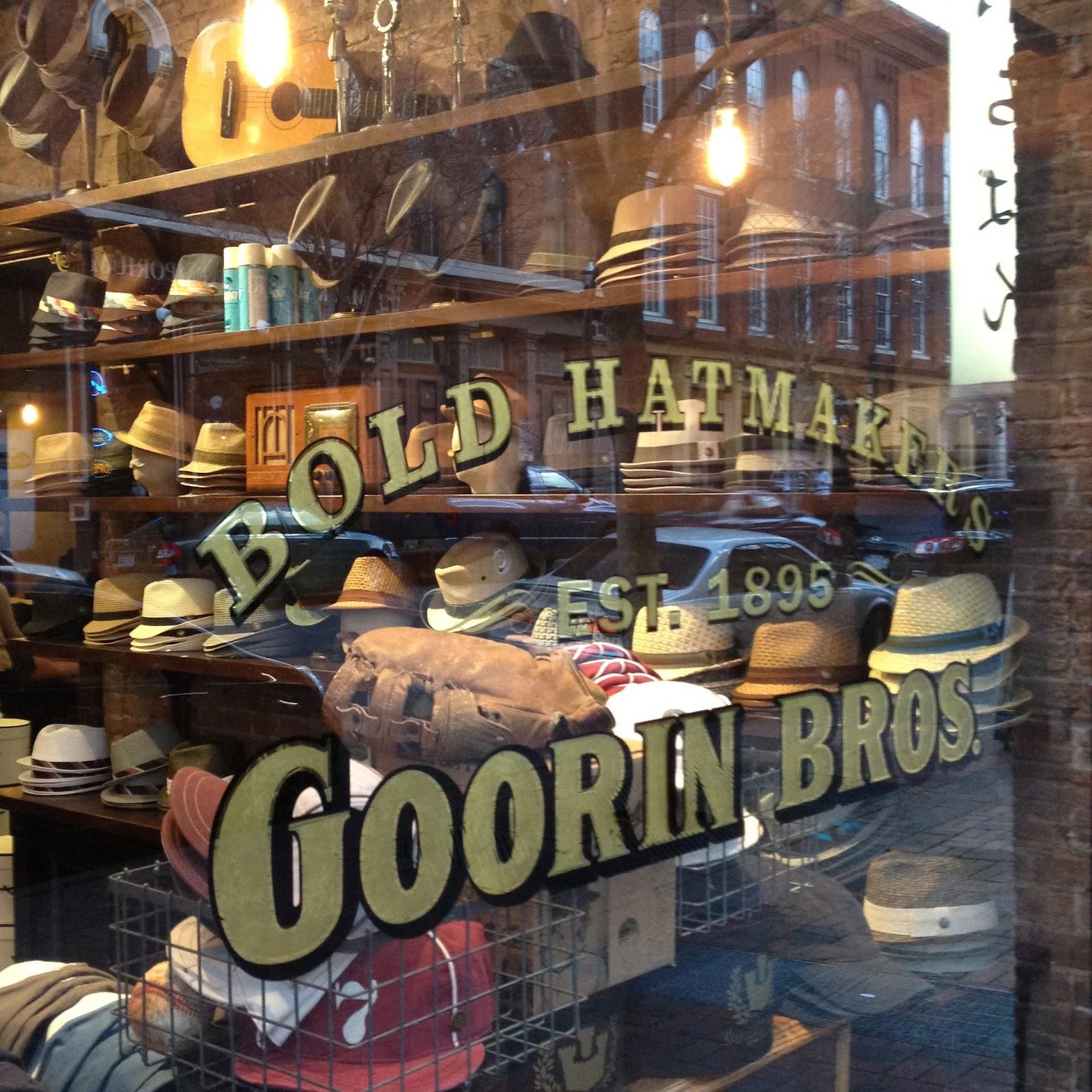 Judson Knows Best  New to Nashville  Goorin Bros. Hat Shop 553cd5b506c