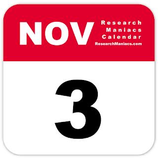 Peristiwa dan Kejadian Penting Tanggal 3 November