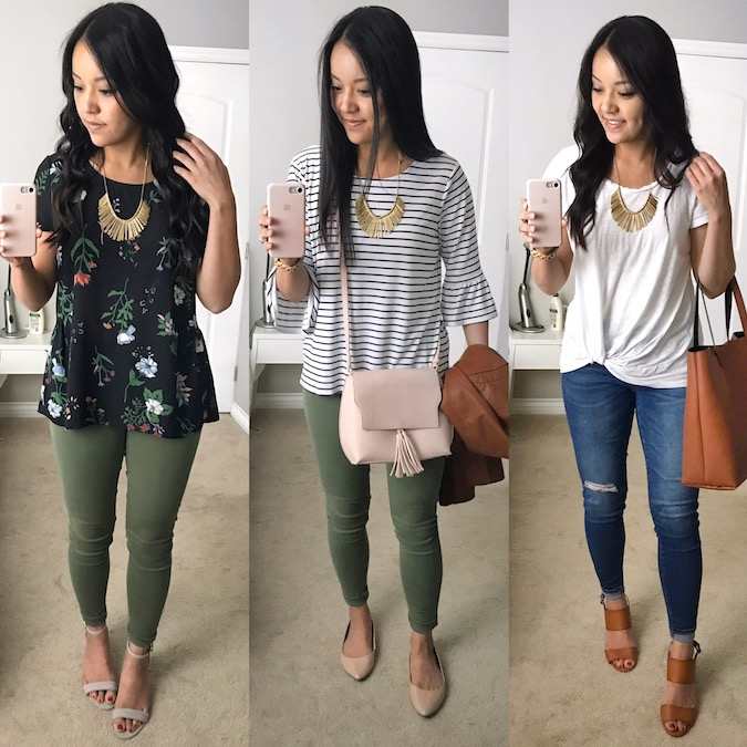 Gold Statement Necklace Outfits