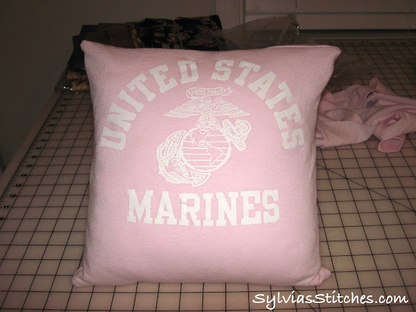 Make a Pillow from a sentimental T-Shirt
