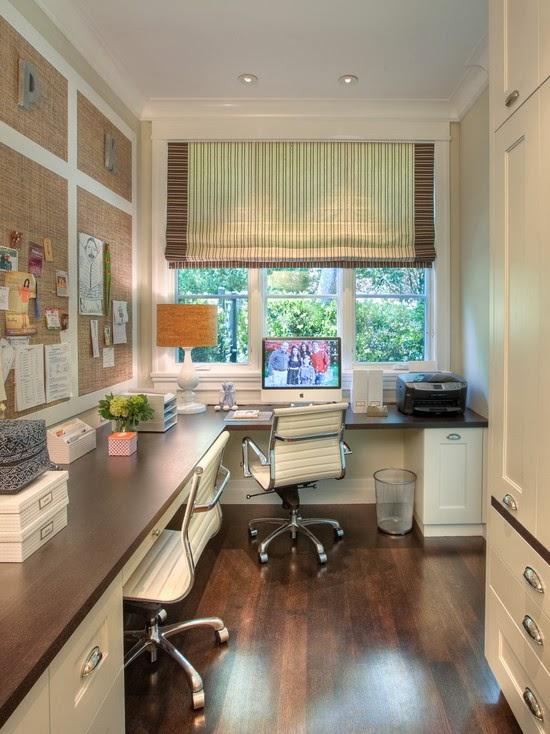 Hogares frescos 40 ideas para dise ar tu oficina en casa - Escritorios para casas ...