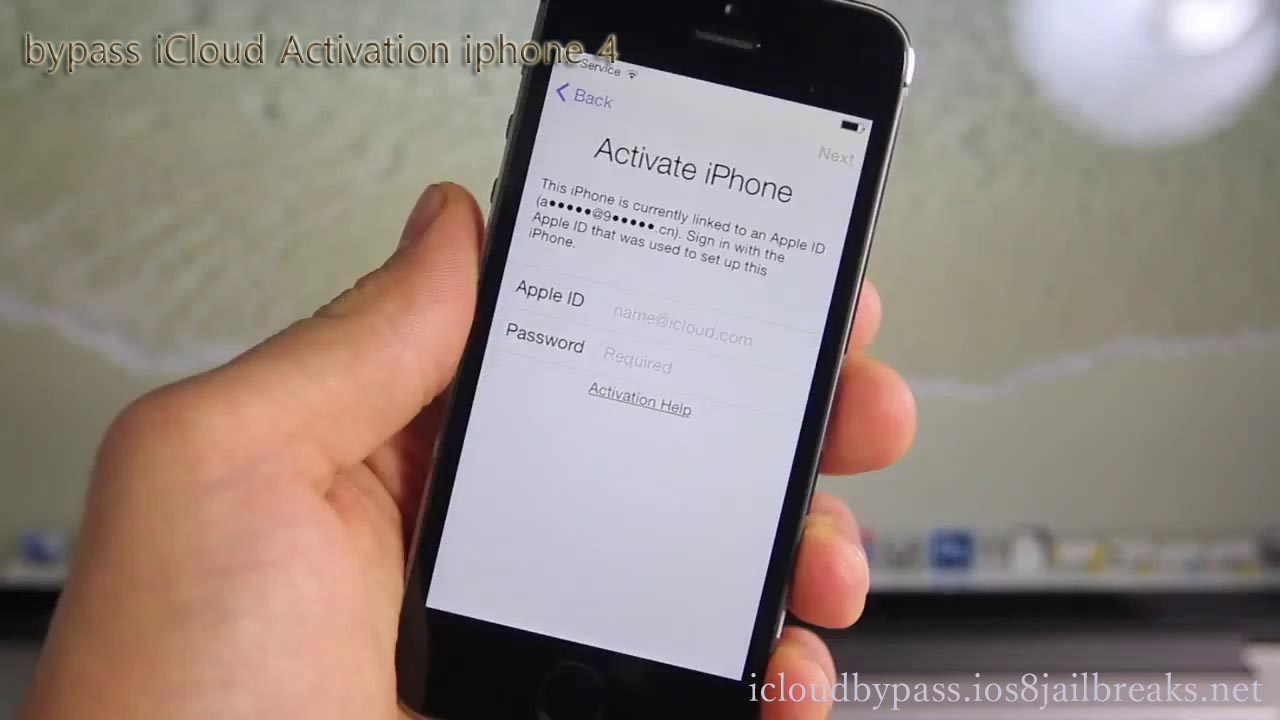Hacking-IOS : How to bypass Icloud Activation Lock Screen