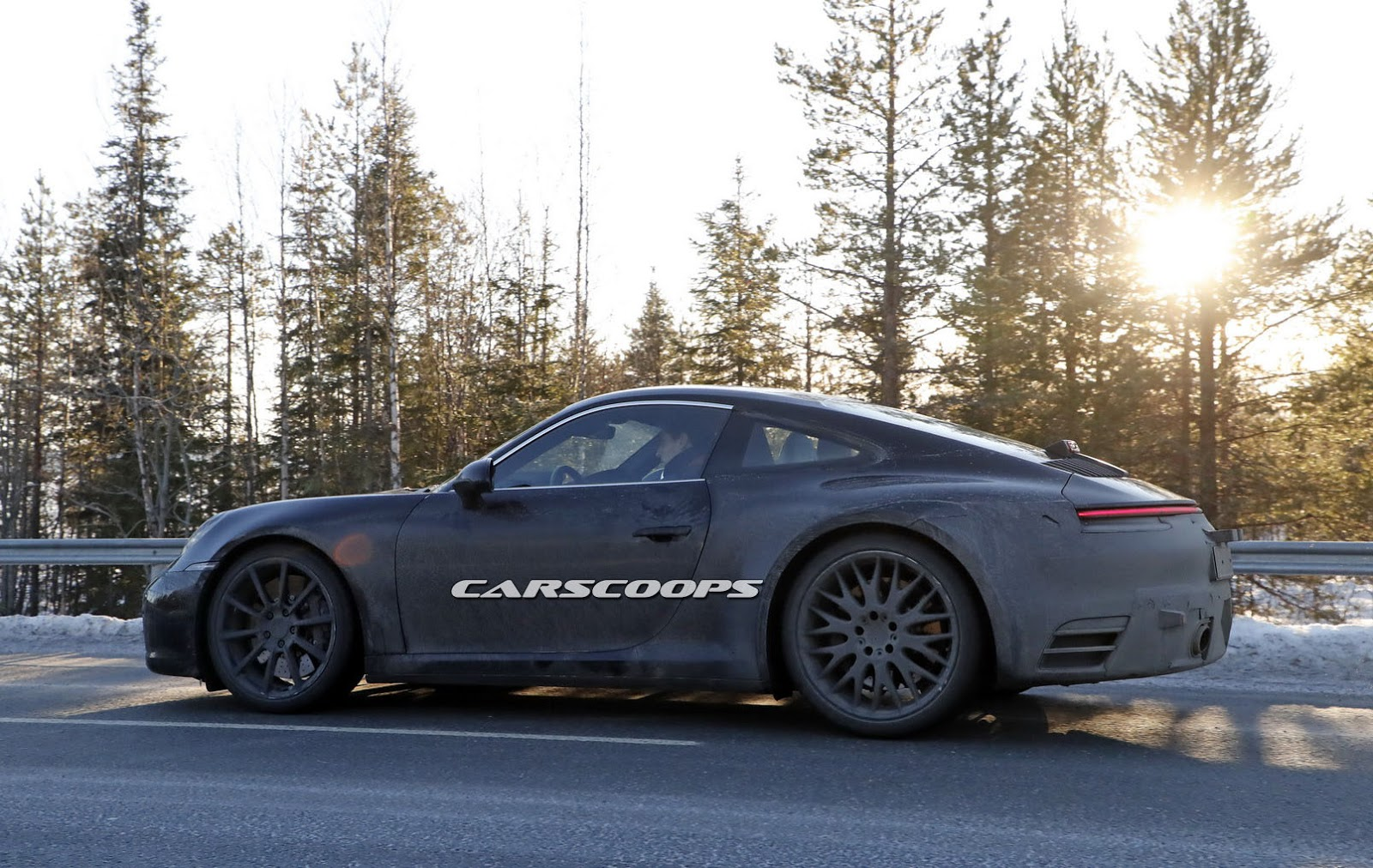 2019 Porsche 911 Spy Shots Highlight Its Mission E