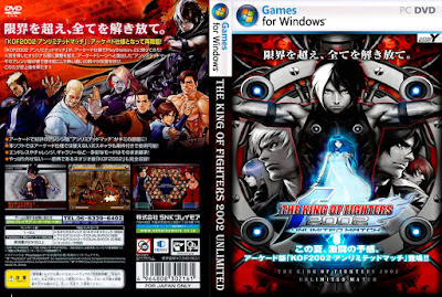 Jogo The King Of Fighters 2002 Unlimited Match PC DVD Capa