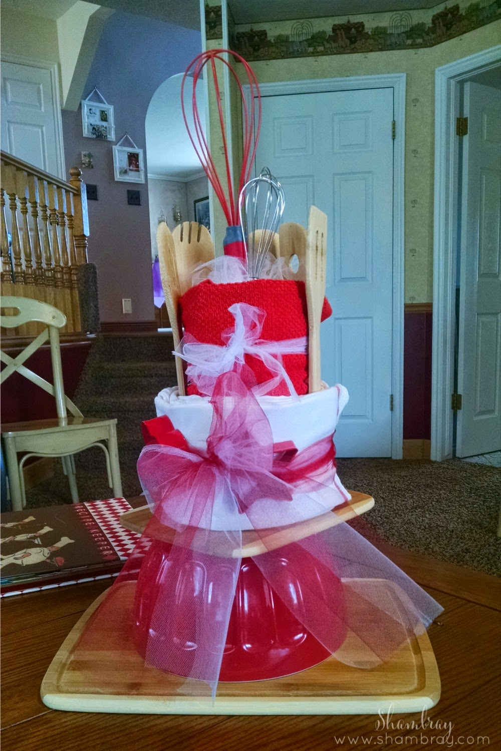 bridal shower, kitchen themed, recipe themed