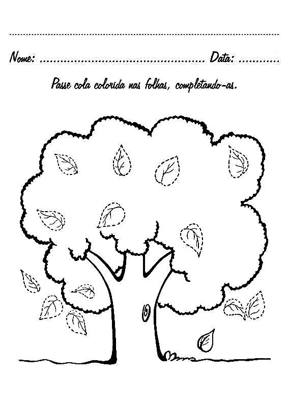 MUNDO COLORIDO : Mais atividades sobre o dia da árvore.