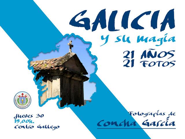 """""""Galicia y su magia"""" Exposición de Concha García Rojas."""