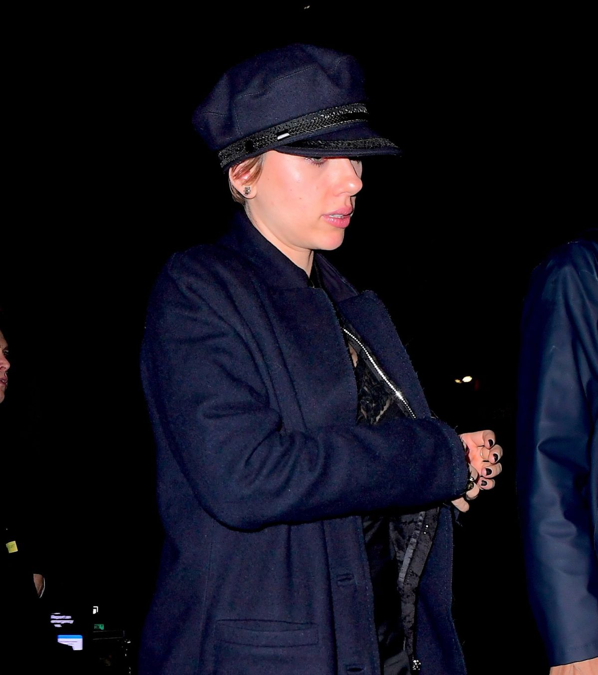 Photos of Scarlett Johansson and Colin Jost Out in New York