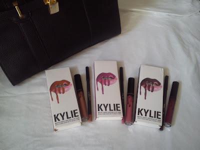 kylie cosmetics lipkit dolce k, posie k