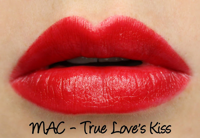 MAC MONDAY | Maleficent - True Love's Kiss Lipstick Swatches & Review