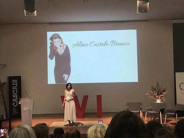 Aline Castelo Branco em Women's Inspiration Portugal