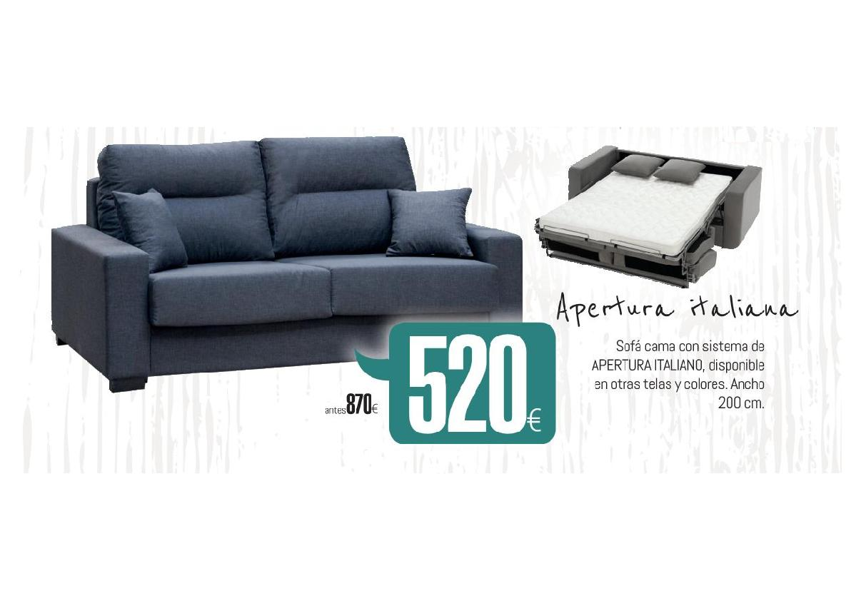 Tu forma muebles a medida sof cama apertura italiana - Sofa cama a medida ...