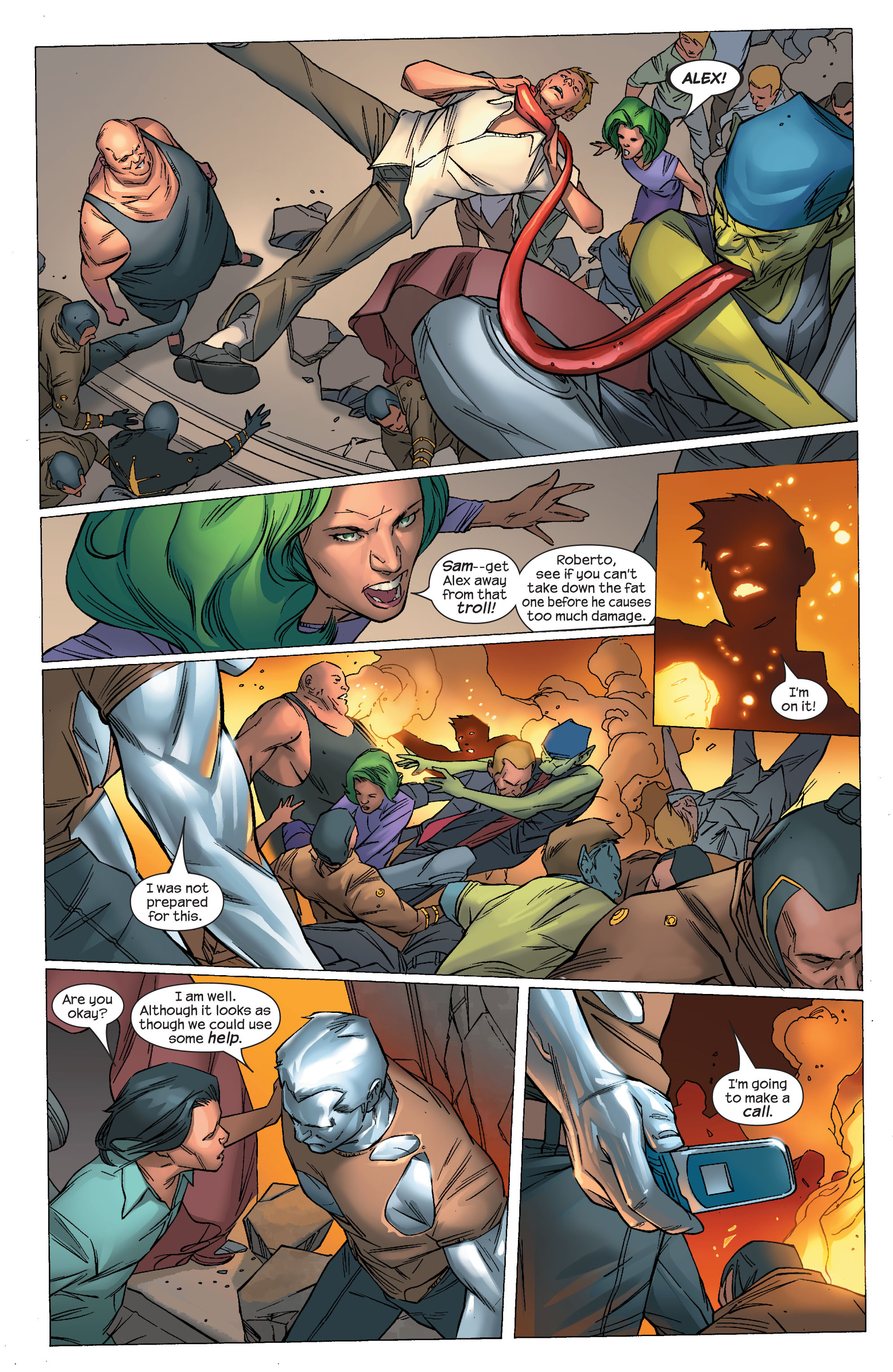 Read online Ultimate X-Men comic -  Issue #69 - 21