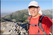 Pico de Las Cruces mendiaren gailurra 1.566 m. - 2018ko abuztuaren 8an