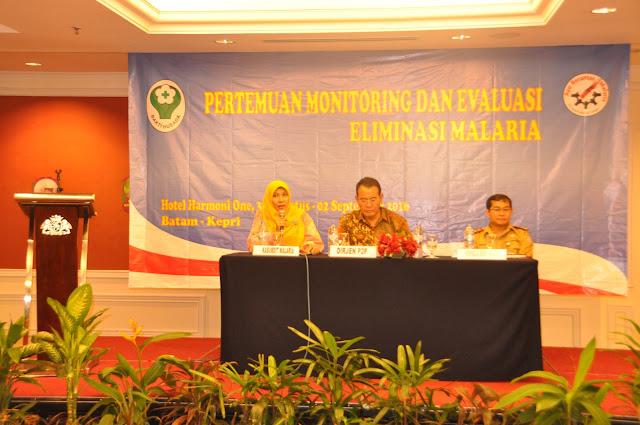 Pertemuan Monitoring dan Evaluasi Eliminasi Malaria 2016