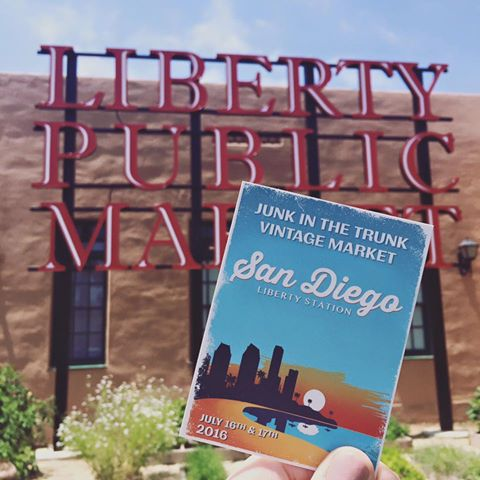 Here's where we all need to be if we love good junkin!! San Diego Liberty Station July 16th & July 17th, 2016