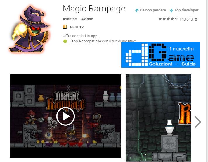 Trucchi Magic Rampage Mod Apk Android v2.3.3