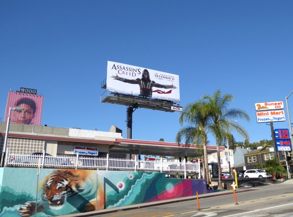 Assassins Creed film billboard