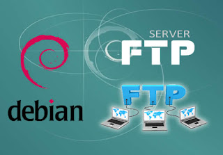 Cara mudah konfigurasi FTP server Debian 8 di Virtualbox