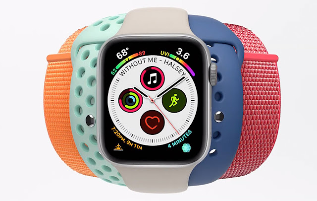 Apple Watch Series 4 — More Powerful, More Colorful