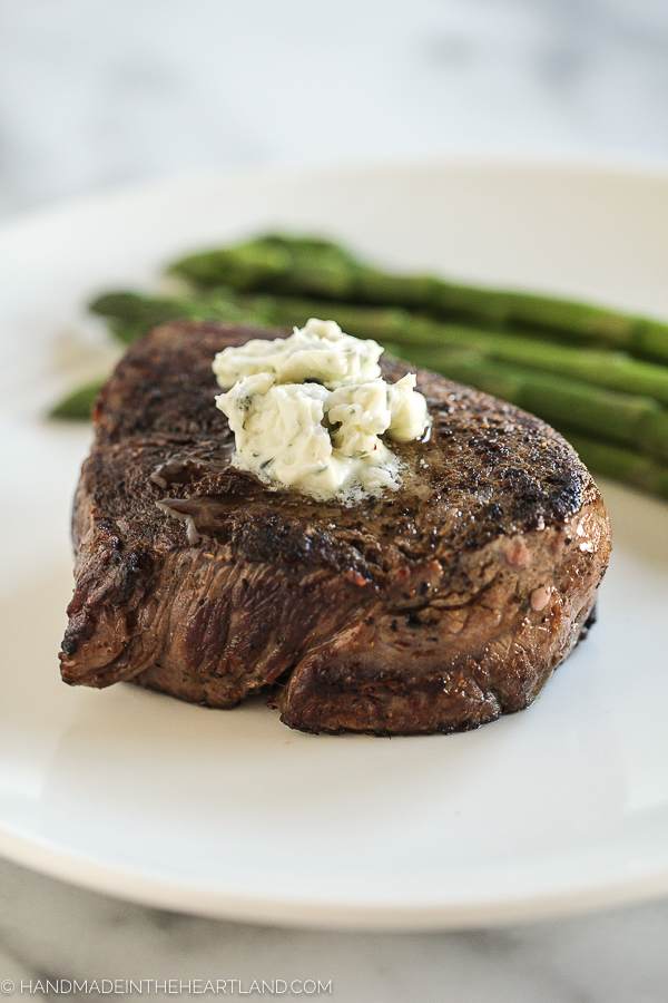 Recipe for Pan-Seared Filet Mignon