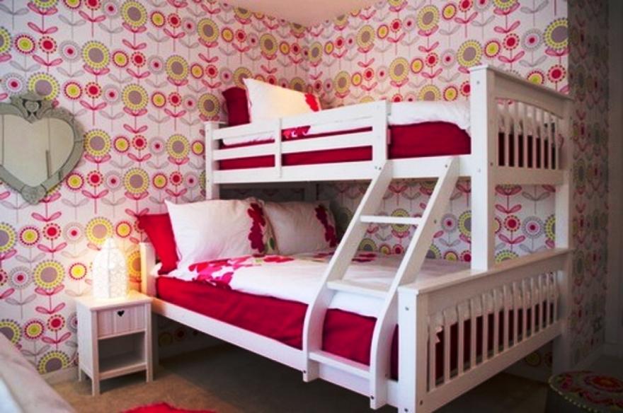 Contoh Wallpaper Kamar Dinding Anak Perempuan