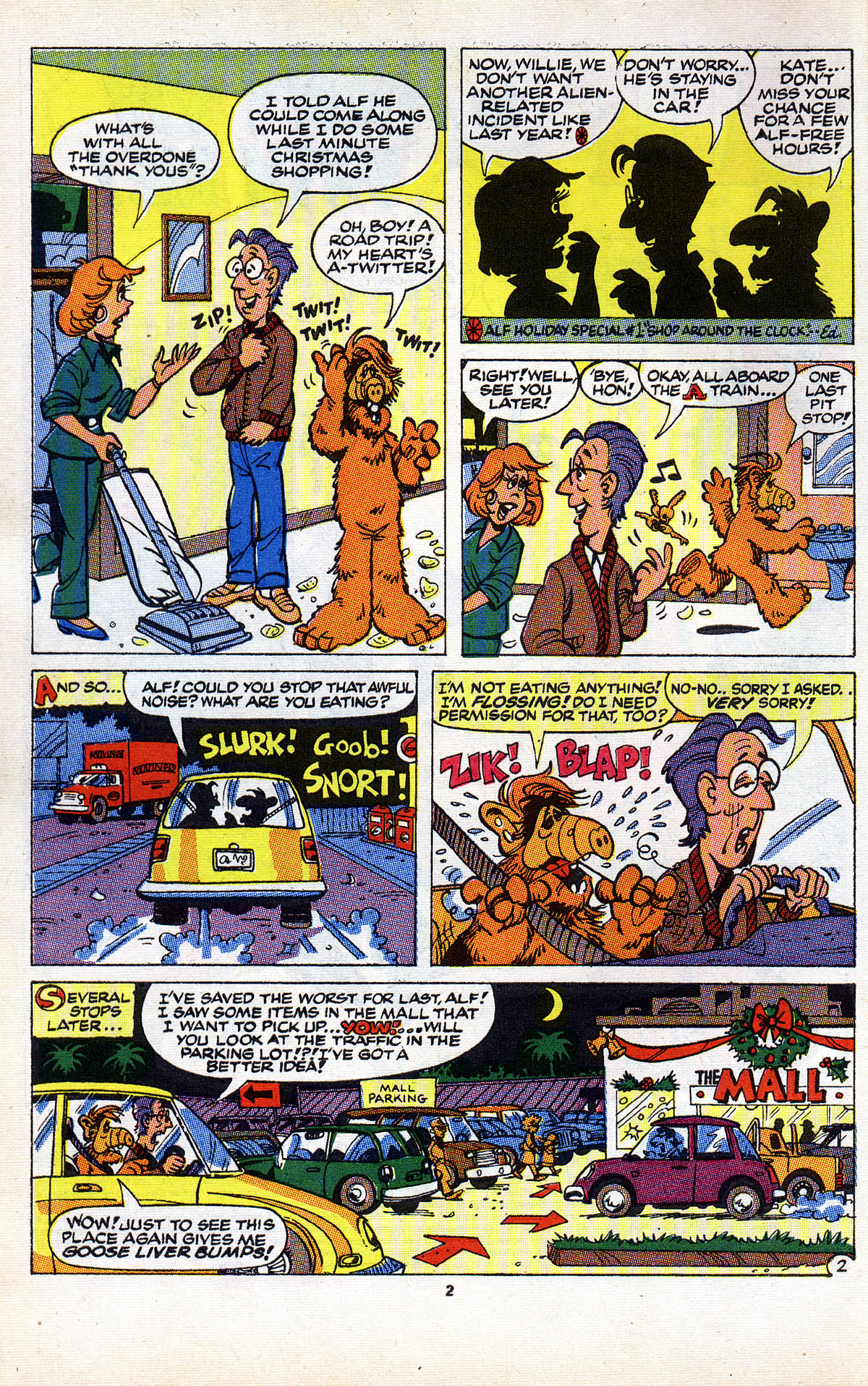 Read online ALF comic -  Issue #2 - 4