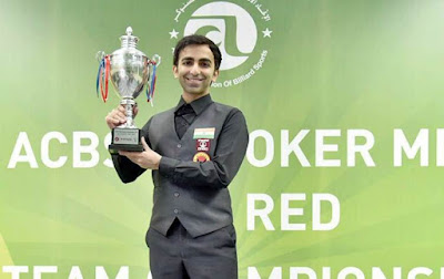 Pankaj Advani wins the 35th Asian Snooker Championship