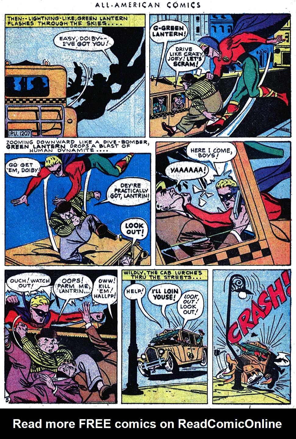 Read online All-American Comics (1939) comic -  Issue #63 - 7
