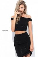 Rochia Sherri Hill 50701 black 1