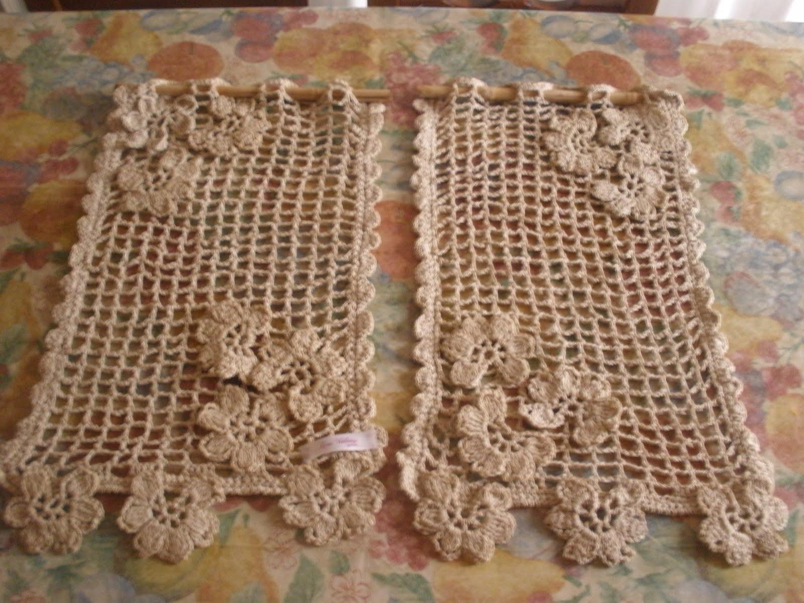 Cortinas Al Crochet Moldes