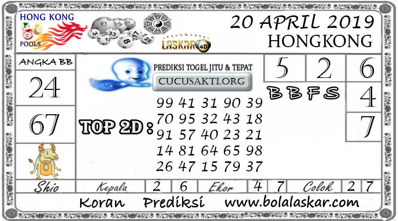 Prediksi Togel HONGKONG LASKAR4D 20 APRIL 2019