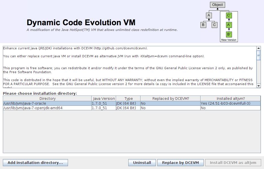 _jerieljan/dev: Using DCEVM Hot Swap on IntelliJ