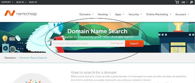 Domain Name Registration Namecheap